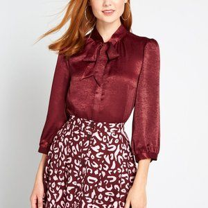 Brand new The HBIC Blouse By ModCloth 1X